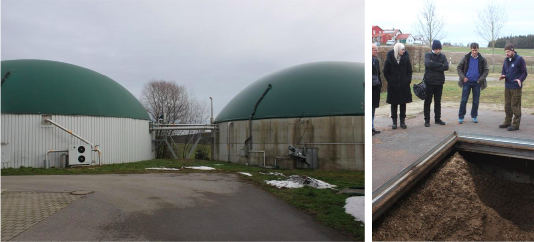 Digesters of the biogas plant and woonschip storage in Vatersdorf (Source: https://www.coolheating.eu/images/downloads/D2.1_Best_Practice.pdf)