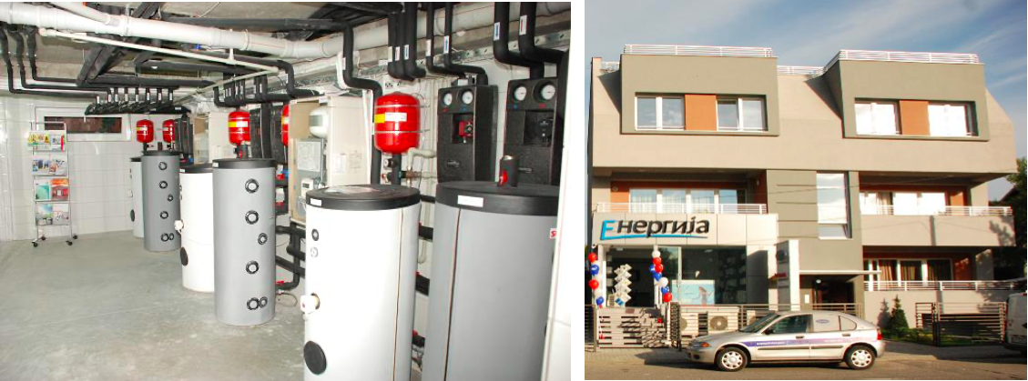 The Building and the Installation (Source: https://www.coolheating.eu/images/downloads/D2.1_Best_Practice.pdf)