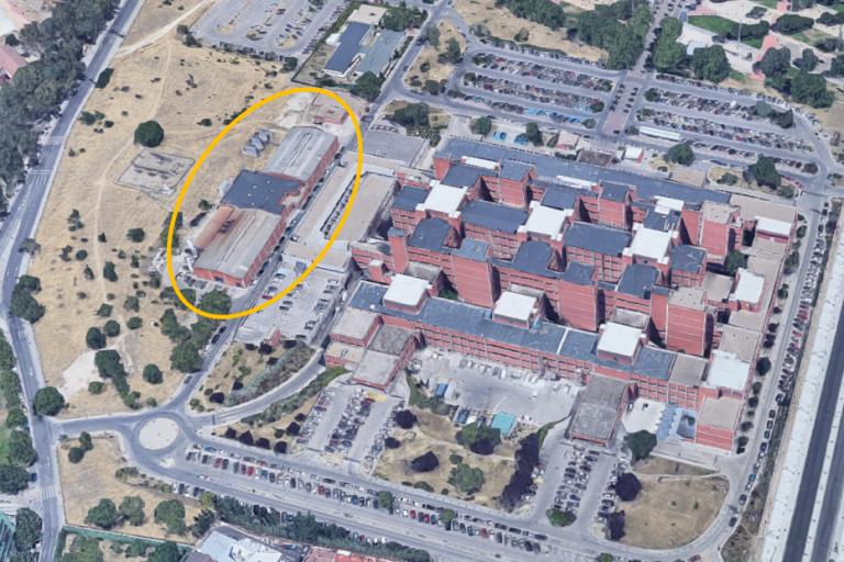 Severo Ochoa Hospital Facility building (Source: https://www.reuseheat.eu/madrid/)