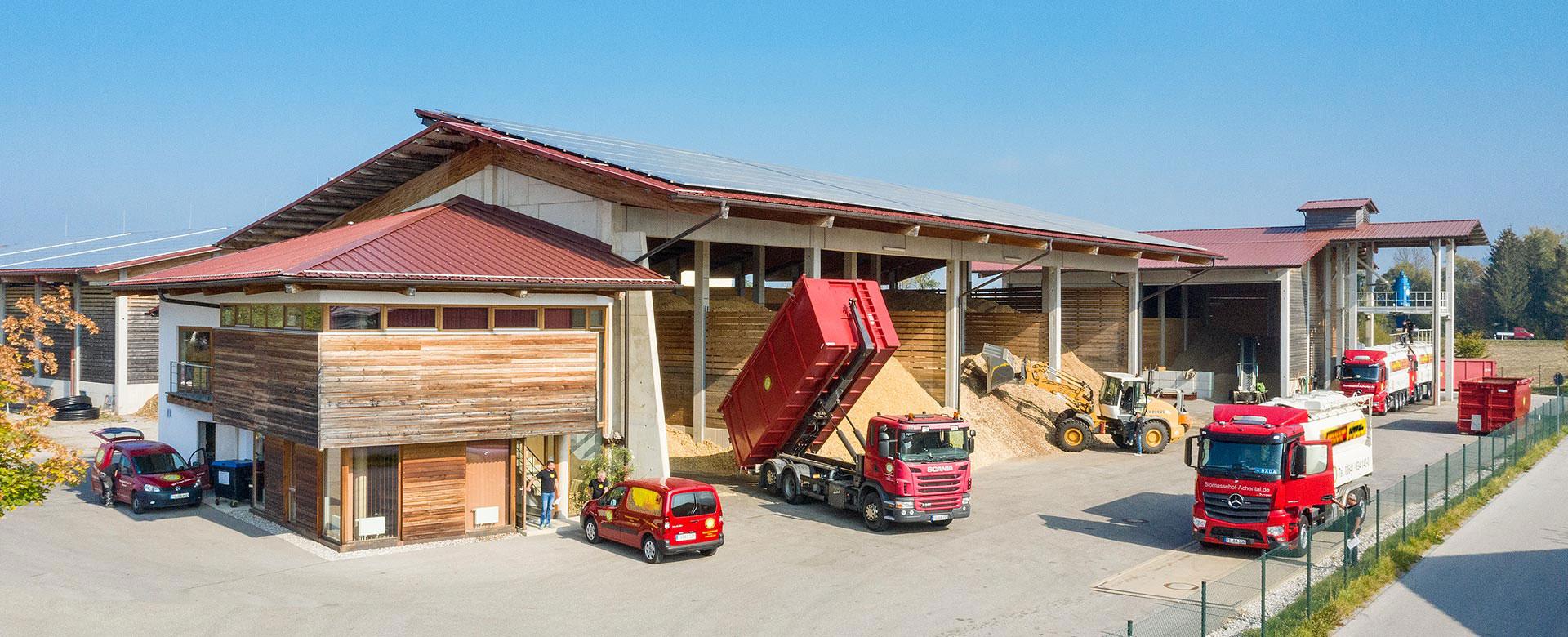 The Biomass Trade Center in Achental (Source: https://www.biomassehof-achental.de)